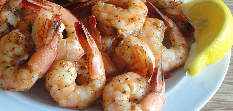 Grilled Mexican Jumbo Shrimp